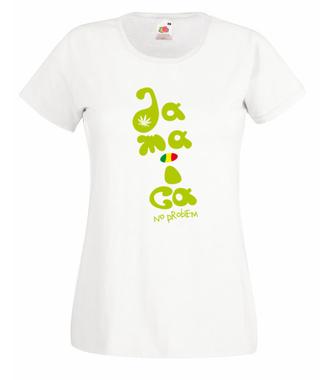 Brzmienie z Jamajki - Koszulka z nadrukiem - Muzyka - Damska