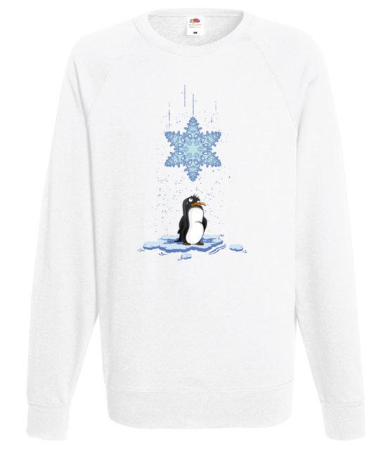 Pada snieg pada snieg bluza z nadrukiem swiateczne mezczyzna werprint 499 106