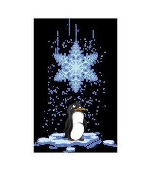 Pada snieg pada snieg grafika na bluze meska 499