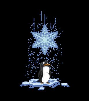 Pada snieg pada snieg grafika na koszulke dziecieca 499