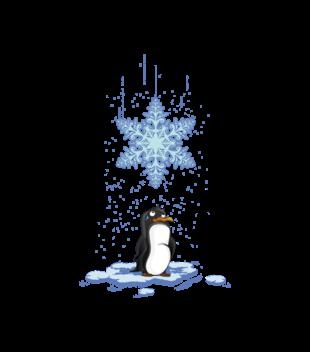 Pada snieg pada snieg grafika na torbe 499