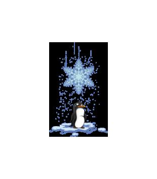 Pada snieg pada snieg grafika na poduszke 499
