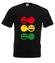 Rasta czucie reggae klimat koszulka z nadrukiem muzyka mezczyzna werprint 104 1
