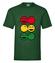 Rasta czucie reggae klimat koszulka z nadrukiem muzyka mezczyzna werprint 104 188