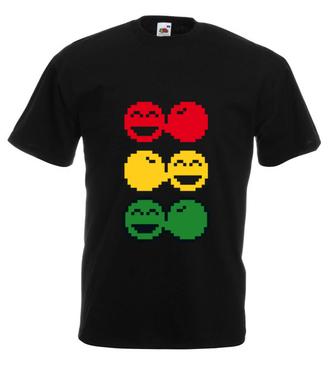 Rasta czucie, reggae klimat - Koszulka z nadrukiem - Muzyka - Męska