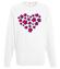 Serce uniesc do gwiazd bluza z nadrukiem na walentynki mezczyzna werprint 59 106