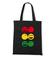 Rasta czucie reggae klimat torba z nadrukiem muzyka gadzety werprint 104 160