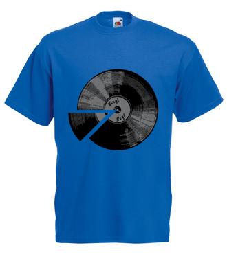 Winyl - sposób na muzę - Koszulka z nadrukiem - Muzyka - Męska