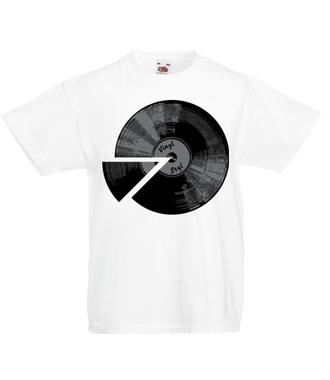 Winyl - sposób na muzę - Koszulka z nadrukiem - Muzyka - Dziecięca