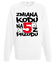 Zmiana kodu na 5 z przodu bluza z nadrukiem urodzinowe mezczyzna werprint 79 106