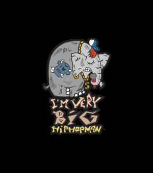 Slon w hip hop skladzie grafika na bluze z kapturem meska 89