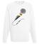 Jedna milosc jeden dzwiek bluza z nadrukiem muzyka mezczyzna werprint 90 106