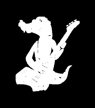 Krokodyli czar magia nuty grafika na koszulke dziecieca 108