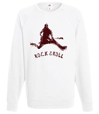 Rock czy Roll? 2w1. - Bluza z nadrukiem - Muzyka - Męska