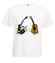 Dla kazdego cos dobrego koszulka z nadrukiem muzyka mezczyzna werprint 110 2