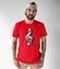 Klucz do muzycznych serc koszulka z nadrukiem muzyka mezczyzna werprint 111 48
