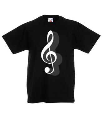 Klucz do muzycznych serc - Koszulka z nadrukiem - Muzyka - Dziecięca