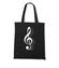 Klucz do muzycznych serc torba z nadrukiem muzyka gadzety werprint 111 160