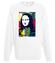 Mona muza art na ciele bluza z nadrukiem muzyka mezczyzna werprint 121 106