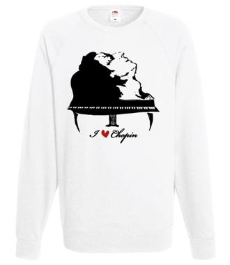 Chopinowe l♡ve  - Bluza z nadrukiem - Muzyka - Męska