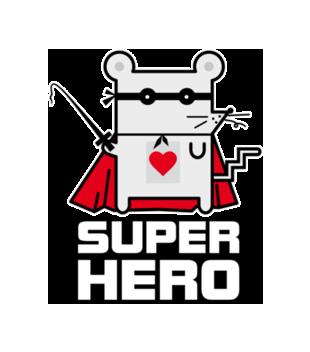 Moj tyci super bohater grafika na bluze meska 134