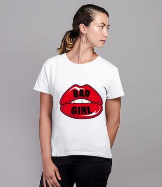 Bo to zła kobieta była...  - Koszulka z nadrukiem - Muzyka - Damska