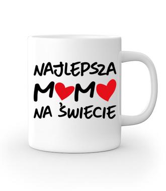 Najlepsza mama na świecie - Kubek z nadrukiem - Dla mamy - Gadżety
