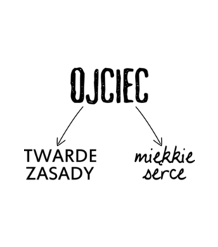 Twarde zasady miekkie serce grafika na kubek 38