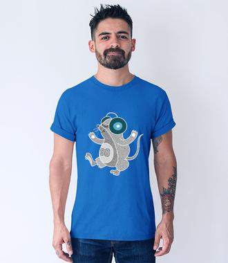 No bo we mnie jest muzyka - Koszulka z nadrukiem - Muzyka - Męska