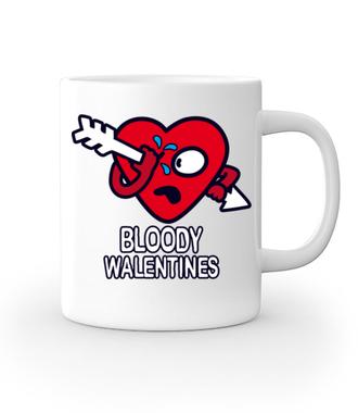 Krwawe walentynki - Kubek z nadrukiem - na Walentynki - Gadżety