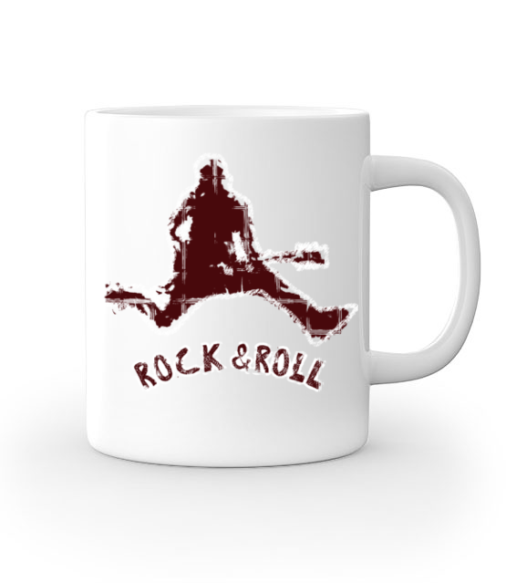 Rock czy roll 2w1 kubek z nadrukiem muzyka gadzety werprint 97 159