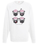 Jeden problem to nie problem bluza z nadrukiem smieszne mezczyzna werprint 153 106