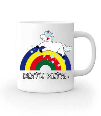 Death Metal czy Słit plastik? - Kubek z nadrukiem - Śmieszne - Gadżety
