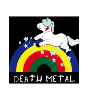 Death metal czy slit plastik grafika na kubek 179