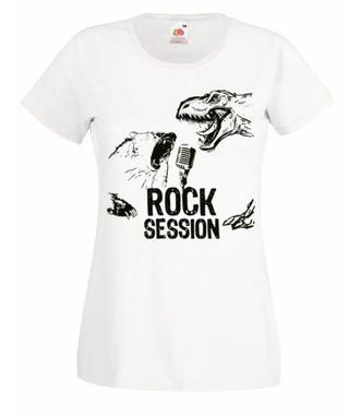 Mocne głosy, mocne brzmienie - Koszulka z nadrukiem - Muzyka - Damska