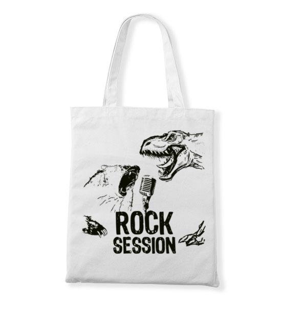 Mocne glosy mocne brzmienie torba z nadrukiem muzyka gadzety werprint 120 161