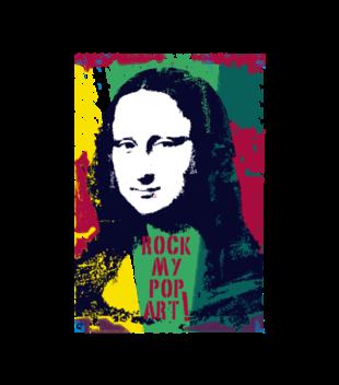 Mona muza art na ciele grafika na koszulke dziecieca 121