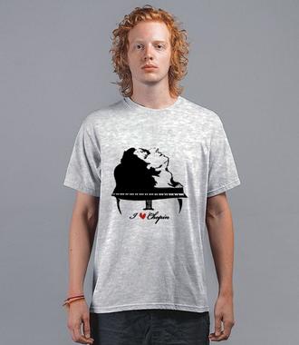 Chopinowe l♡ve  - Koszulka z nadrukiem - Muzyka - Męska