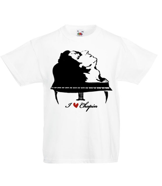Chopinowe l♡ve  - Koszulka z nadrukiem - Muzyka - Dziecięca