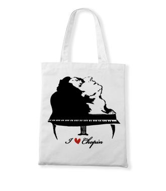 Chopinowe l♡ve  - Torba z nadrukiem - Muzyka - Gadżety