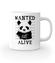 Poszukiwana panda kubek z nadrukiem zwierzeta gadzety werprint 416 159