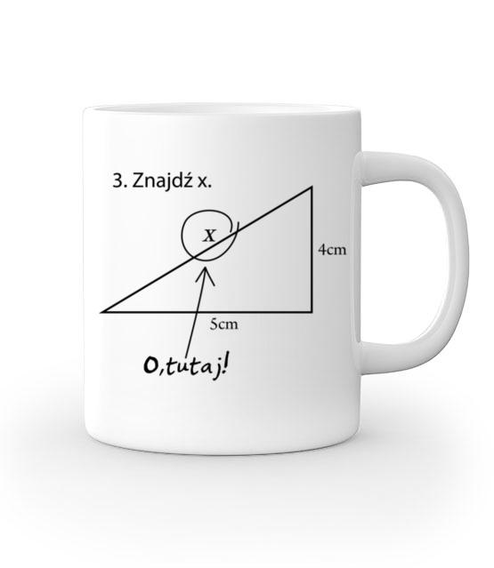 Matematyka krolowa nauk kubek z nadrukiem szkola gadzety werprint 434 159