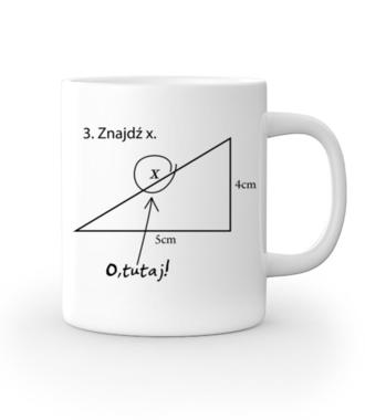 Matematyka - królowa nauk. - Kubek z nadrukiem - Szkoła - Gadżety