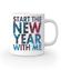 Rozpocznij nowy rok ze mna kubek z nadrukiem swiateczne gadzety werprint 469 159