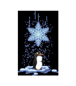 Pada snieg pada snieg grafika na kubek 499