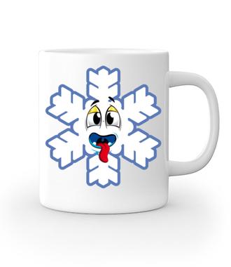 Ze śniegiem mi do twarzy - Kubek z nadrukiem - Świąteczne - Gadżety