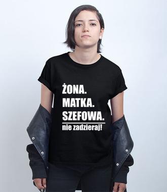 Kobieta wielu formatów - Koszulka z nadrukiem - Dla mamy - Damska