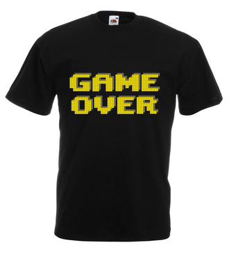 Ślepa uliczka, koniec gry - Koszulka z nadrukiem - dla Gracza - Męska