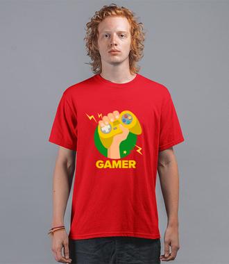 Zawodowy gracz - Koszulka z nadrukiem - dla Gracza - Męska