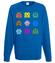 Robaczki zjadaczki bluza z nadrukiem dla gracza mezczyzna werprint 557 109